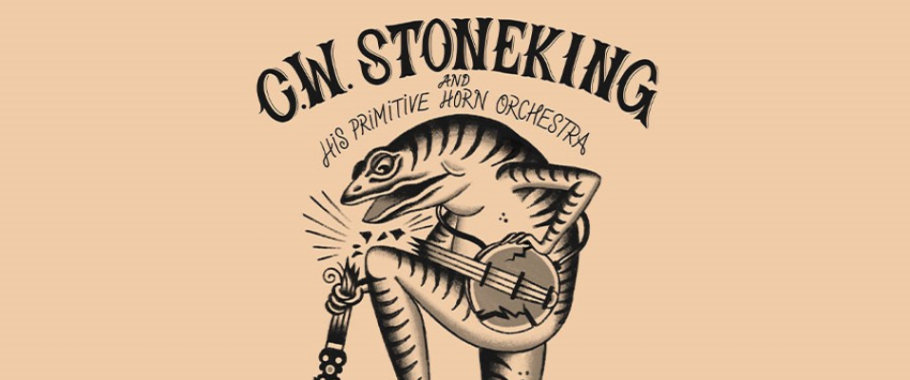 C.W. Stoneking and his Primitive Horn Orchestra