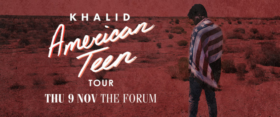 Khalid - *RELOCATED EVENT*