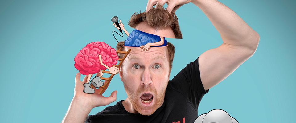 Jason Byrne - The Man With Three Brains