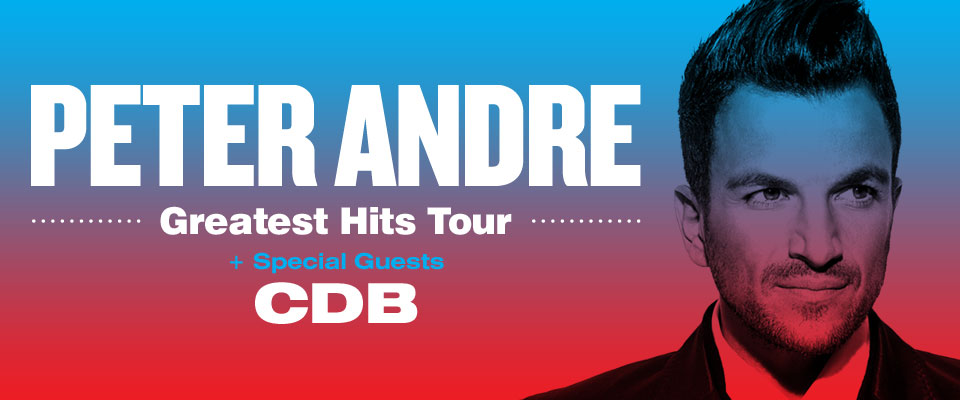 Peter Andre - *CANCELLED EVENT*